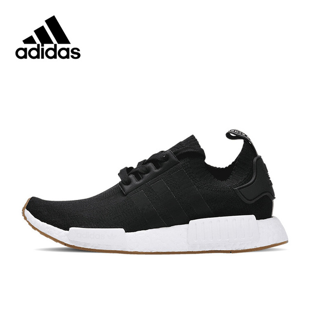 New Arrival Authentic Adidas Originals NMD R1 PK Gum Pack Breathable Men's  Running Shoes Sports Sneakers