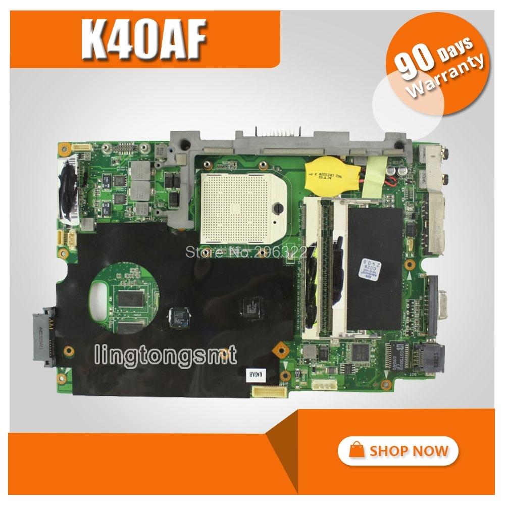 K40AB for ASUS Mainboard K40AF K50AD K50AB K50AF X8AAF X5DAF Motherboard HD 4570 512MB VRAM DDR2 tested good k40ae for asus k40af k40ab x8aaf k40ad k50ad k50af laptop motherboard motherboard improved low temperature version tested
