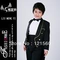 Свадьба мальчики платье смокинг для мальчик для 2 - 12 возраст жестяная банка быть согласно требованиям клиента блейзеры костюмы