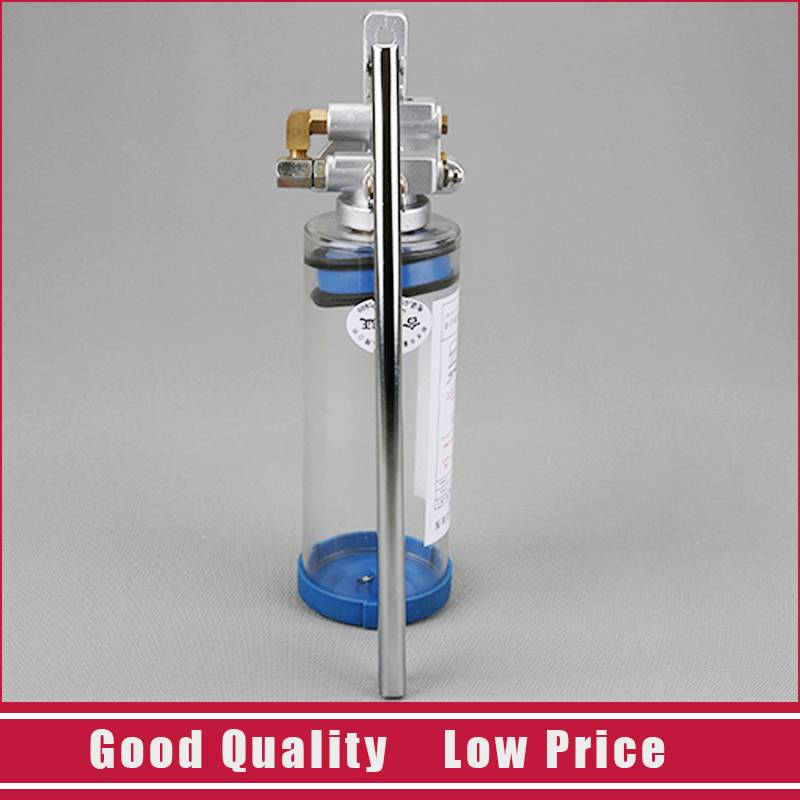 Pompe de remplissage manuelle d'alliage d'aluminium de pompe à huile de pression de main