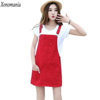 Denim Sundress Denim Dresses Women 2017 Summer Dress Robe Femme Party Dresses Brazil Lolita Vestido Jeans