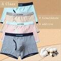 Novo 2017 underwear meninos das crianças cuecas crianças boxer shorts calcinhas de algodão cor sólida para 2-16 anos de idade meninos crianças underwears