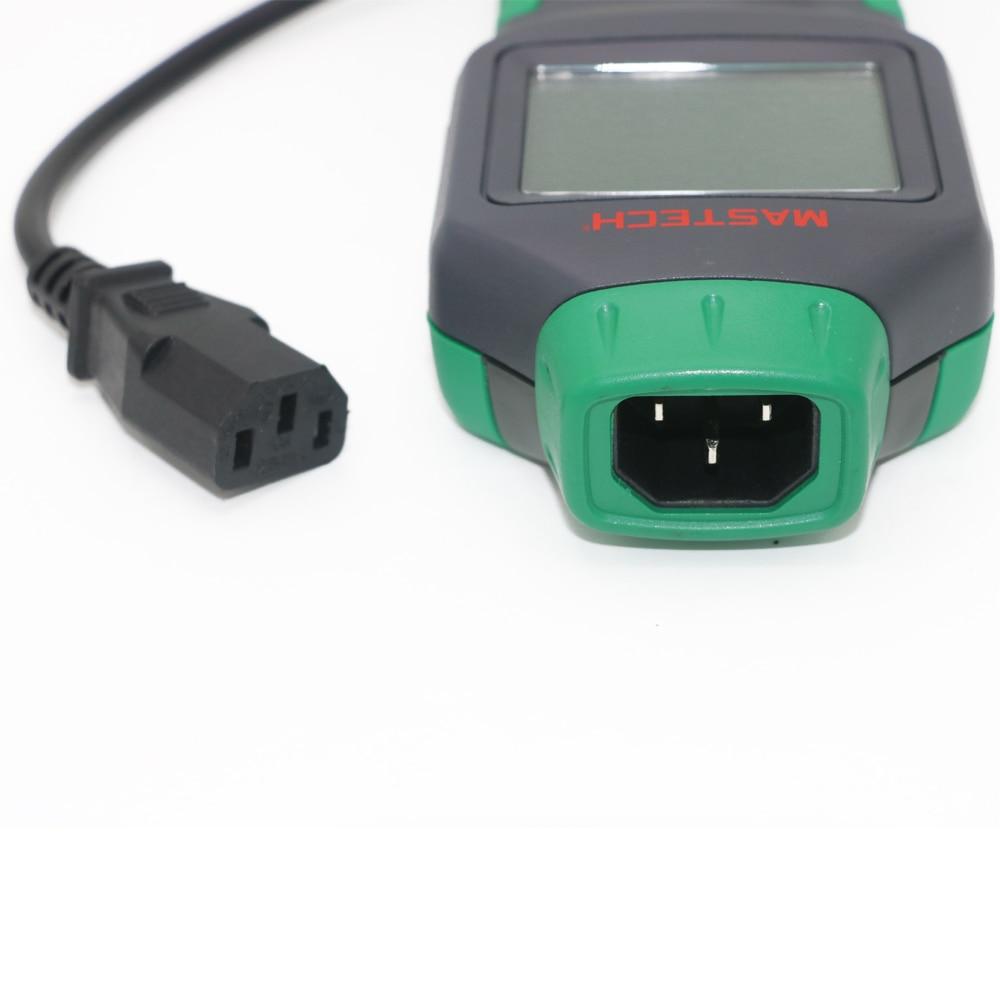 MASTECH MS5908B Circuit Analyzer TRMS AC Low Voltage Distribution Line Fault Tester RCD GFCI Sockets Testing 220V недорго, оригинальная цена