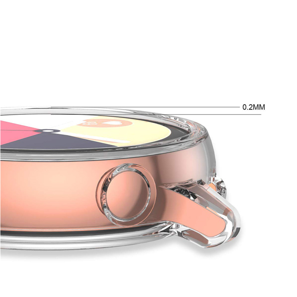 Image 4 - Protector case for samsung galaxy watch active Soft silicone Cover Ultra thin Screen Protection Frame for Galaxy Active 40mm-in Smart Accessories from Consumer Electronics