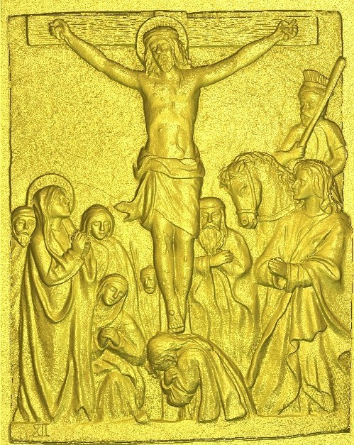 New  6th 3d Models Relief  For Cnc In RLF File Format  Jesus7_12 All Scenes Way Of The Cross