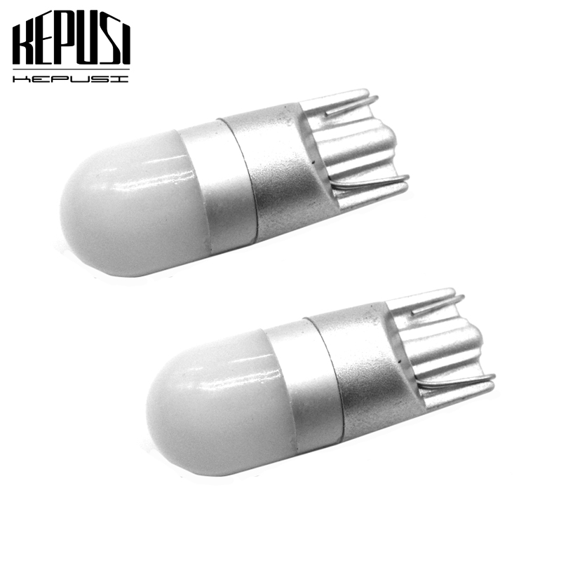 2x LED Car Light T10 W5W Led Wedge Bulb Auto Reading Parking Light Side marker Bulbs For honda accord civic2008 jazz city fit in Signal Lamp from Automobiles Motorcycles