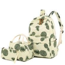 Princess Fruit Printing SchoolBags Children Backpacks For Teenager Girls Primary School