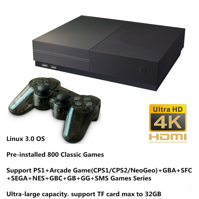 цена на X Pro HD 64Bit Video Game Console 4K HDMI Output Family TV Game Player Built in 800 Classic Games X Pro For PS1/CPS/GBA/NeoGeo
