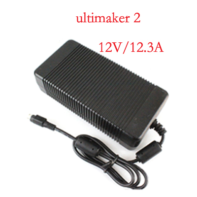Blurolls for Ultimaker 2 AC/DC adapter power supply for  2 UM2 Extended 3d printer,24V,12.3A 10A 8A,good quality 2017 assembled jennyprinter3 z360ts dual extruder nozzle extended for ultimaker 2 um2 high precision auto leveling 3d printer