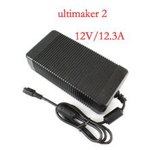 Blurolls for Ultimaker 2 AC/DC adapter power supply for 2 UM2 Extended 3d printer,24V,12.3A 10A 8A,good quality