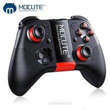 MOCUTE 054 Bluetooth Không Dây Di Động Tay Cầm Chơi Game Pha Lê Nút Android Cần Điều Khiển Cho Máy Tính Điện Thoại Thông Minh Truyền Hình VR BOX Bộ Điều Khiển PK 050