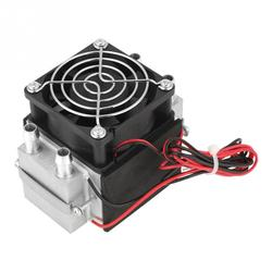 2-Chip 12V 240W Electronic Semiconductor Refrigeration Diy Air Cooling System Water-Cooled Heat Dissipation