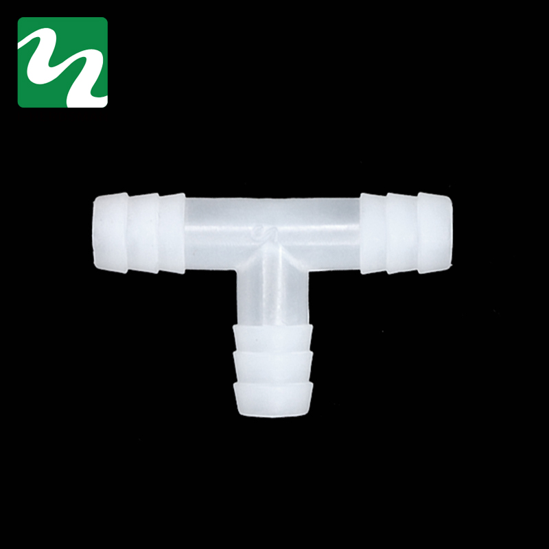 10PC Plastic Pipes For Mounting Bird Rabbit Drinking Waterer Pipe Tee Pipe Animal Drinkers Poultry Feeding Supplies Whole Sale