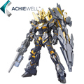 Marca Daban HGUC 1:144 Gundam Unicorn 02 Banshee robô Gundam Anime Action Figure coleção de brinquedos