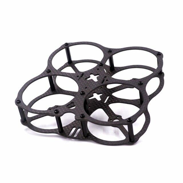 X2 OVNI 3 K pura fibra de carbono 78mm del marco DIY RC FPV interior Cruz de micro quadcopter drone