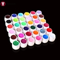 12/24/36 Solid Pure Color Mix Nail Art UV Builder Gel Set For Acrylic False Tips Manicure Beauty Vernis gel uv