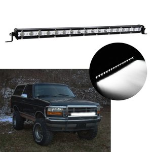 "Image 5 - Slim LED Light Bar Single Row 7"" 13"" 20"" 25"" 32"" 38 inch 30W 60W 90W 120W 150W 180W For SUV 4X4 Off Road LED Work Light Lamp"