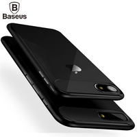 Baseus Anti-Knock Case For iPhone 7 For iPhone 7 Plus Case Luxury PC + TPU Double Protection Phone Cover For iPhone7 7Plus Coque