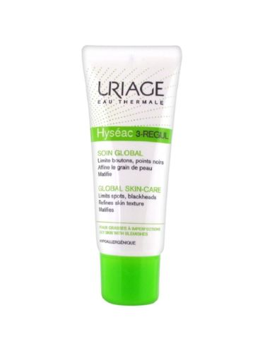 Hyseac 3-Regul Global Skin-Care 40ml care for oily to imperfections skins крем uriage hyseac 3 regul global skin care for oily skin with blemishes