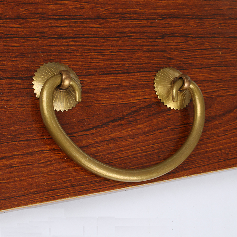 Retro Metal Kitchen Drawer Cabinet Door Handle And Furniture Knobs Handware Cupboard Antique Brass Pull Handles 10pcs