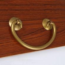 Retro Metal Kitchen Drawer Cabinet Door Handle And Furniture Knobs Handware Cupboard Antique Brass Pull Handles 10pcs недорого