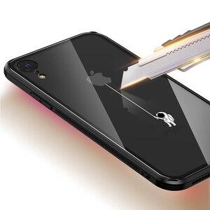 Image 4 - Чехол из закаленного стекла для iPhone X XR xs max, 6d взрывозащищенный прозрачный стеклянный чехол с рисунком для девушек, стеклянный чехол для iphone xr xs max