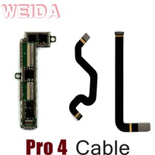 цена на WEIDA Flex Cable Connectors Replacment For Microsoft Surface Pro 4 Pro4 1742 LCD Cable Touch Small Board Flex Cable Conntectors