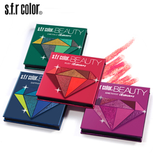Diamond Matte Eyeshadow Palette Nude Minerals Professional Eye Shadow Powder Pigment Cosmetic Waterproof Makeup