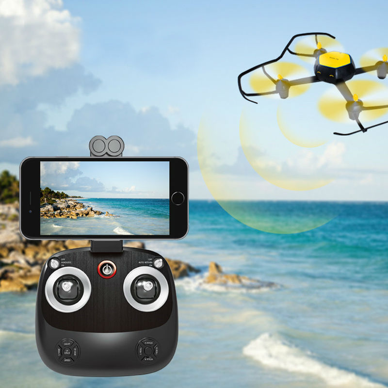 RC Dron With Camera 0.3MP HD WiFi FPV Drone Height Hold RTF Remote Control Quadcopter Selfie Drone Helicopter 606-6W VS SYMA X5C new arrival syma x8hg wifi fpv 3d rolling dron rc 2 4g remote control 6 axis rc drone hd camera rc quadcopter with led light