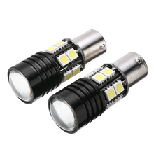 цена на Mayitr 2pcs 1156 LED Light Bulb BA15S P21W Car Canbus No Error Tail Backup Reverse Lights Turn Signal Lamp