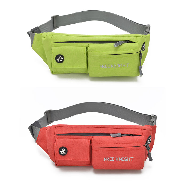 Outdoor Running Waist Packs Bags Unisex Sport Fitness Running Nylon Waistband Belt Bags  ...