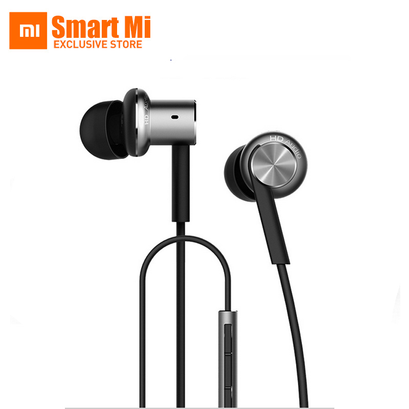 100% Original Xiaomi Hybrid Mi IV In-Ear Earphone Wired Piston Pro Built MIC Phone Earphone For Xiaomi redmi MI4 MI3 MI5 Redmi original xiaomi xiomi mi hybrid earphone 1more design in ear multi unit piston headset hifi for smart mobile phone fon de ouvido