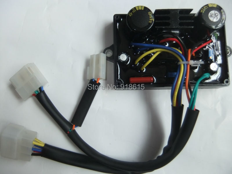 free shipping 5KW Welding / generator AVR stabilizer voltage regulator parts цена