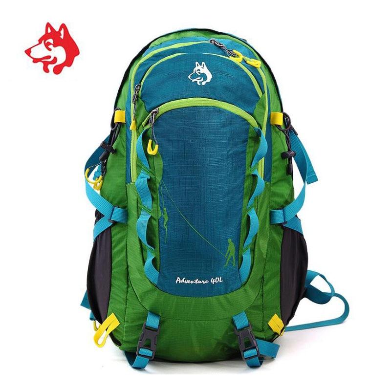 Unisex 40L Outdoor Travel Hiking Trekking Tourist Backpack Rucksack Bags For Sports Waterproof Mochila Camping Backpacks