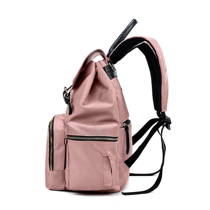 Maternal and Child Travel Backpack Portable Mobile Fashion Mother Bag New Korean Version Mummy Bag Multi-Function Large CapacityMaternal and Child Travel Backpac016