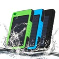 Universal 8000mAh New Waterproof Solar Power Bank Portable Charger Outdoor Travel Enternal Battery Powerbank for Mobile phone