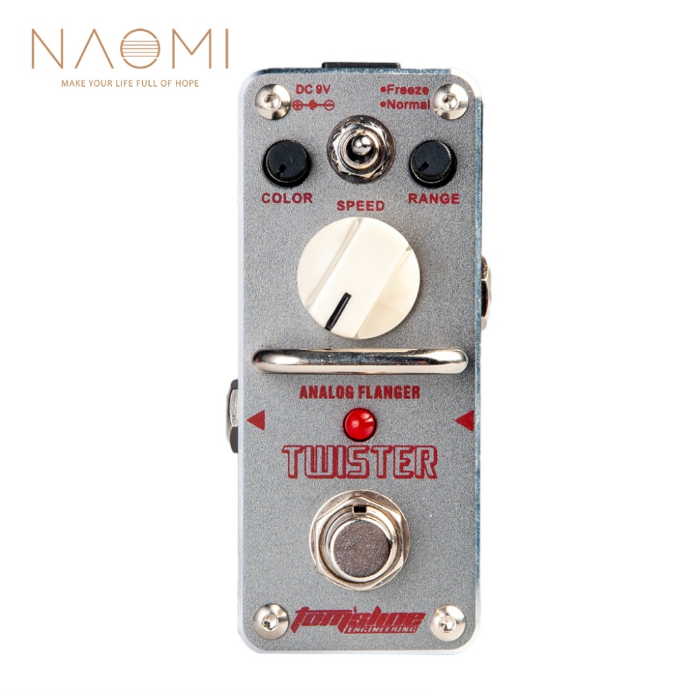 NAOMI Aroma Guitar Effect Pedal ATR 3 Analogue Mini Effect Pedals ATR 3 Twister Electric Guitar Pedal Guitar Parts Accessories