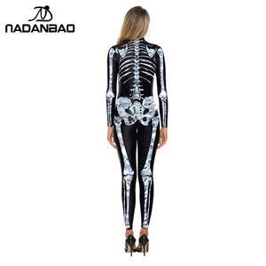 Image 2 - NADANBAO Costume de carnaval de poupe, cristal, pour femmes, body Cosplay élastique