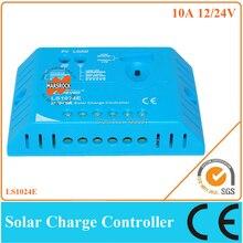 10A 12 V/24 V блок управления установкой на солнечной батарее для небольших система на солнечной батарее для дома, заряд ШИМ контроллер с гуманизированный дизайн и красивый внешний вид