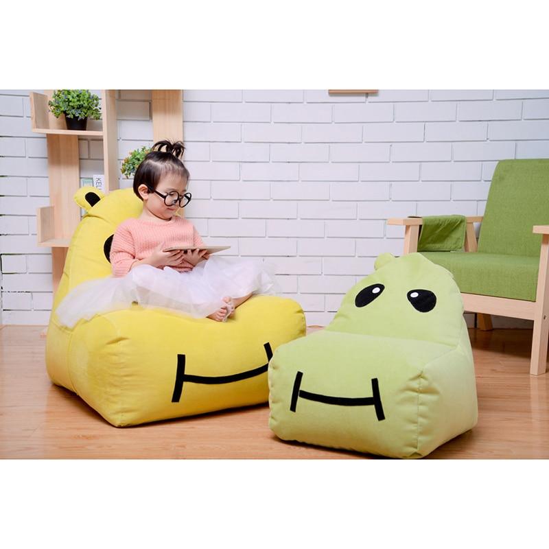 Chpermore Cute Mini Cartoon Children Bean Bag lazy sofa Comfortable Living room leisure Bean bag sofa Students/Kids tatami chair