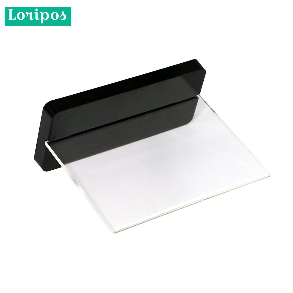 Acrylic Frame A6 Label Holder Stand Wedding Name Card Stand Note Holder Price Tag Display Frame Desk Sign Holder Menu Stand Card Holder & Note Holder