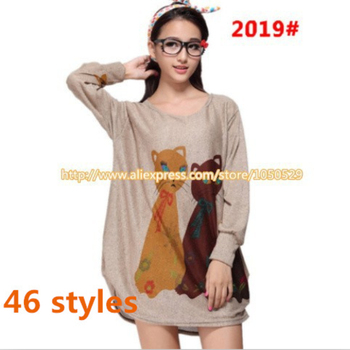 2019 Autumn spring Maternity clothing clothes for pregnant women Casual maternity blouses pregnant women tops M154