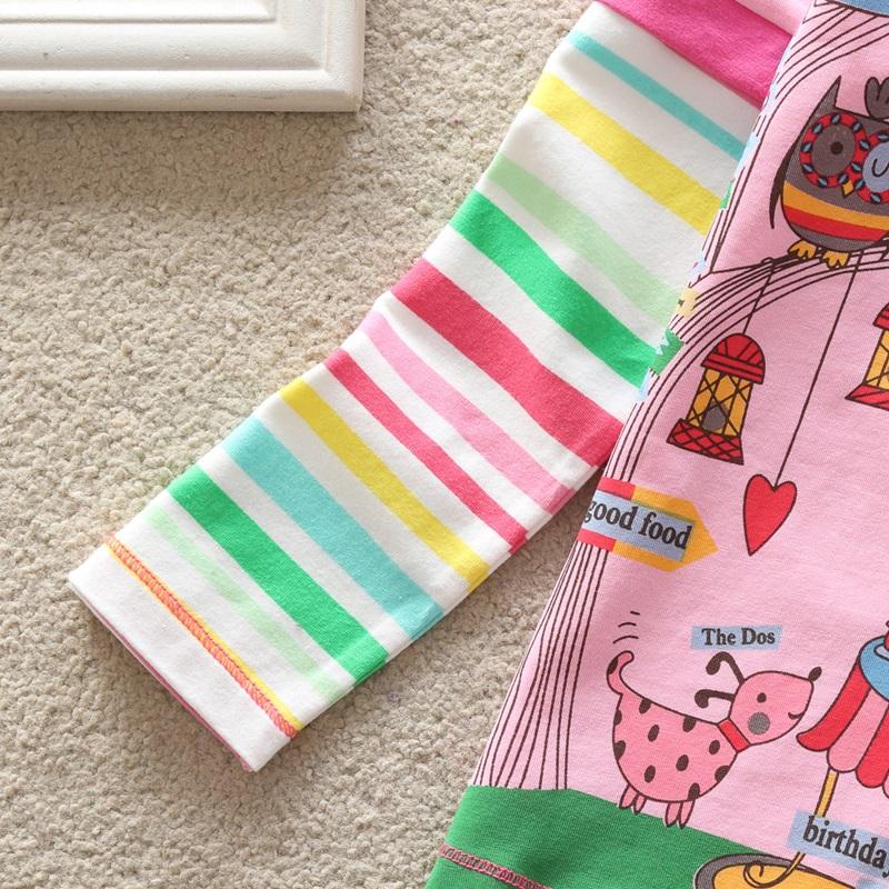 HTB1rffEXPihSKJjy0Fiq6AuiFXaT - Girls Long Sleeve All Year T-Shirt, Long Sleeve, Cotton, Various Designs and Prints