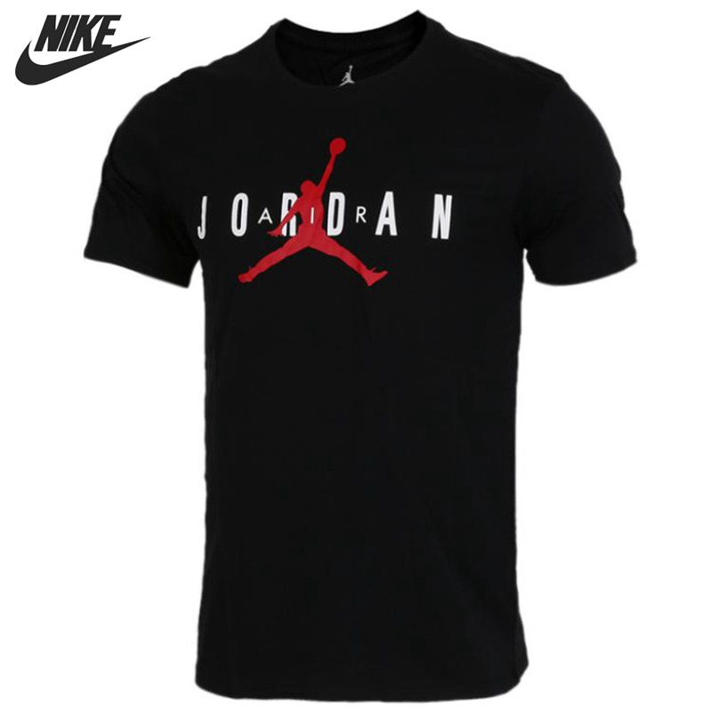 dirt cheap reliable quality outlet store sale € 31.77 35% de réduction|Nouveauté originale NIKE AS M JSW TEE JORDAN AIR  GX T shirts homme manches courtes vêtements de sport-in De course T-Shirts  ...