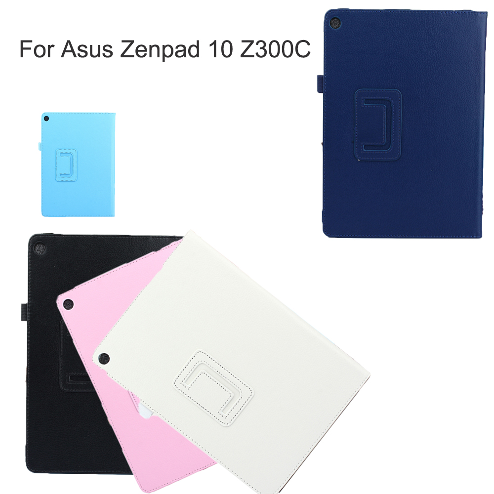 Viviration Holder Protector For Asus Zenpad 10 Z300 C New PU Leather Fold Shell Skin Cover Whole Protector For Asus Tablet