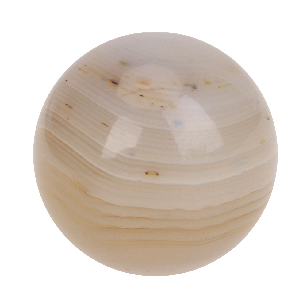 19mm Natural White Marble font b Crystal b font Ball Sphere with Stand Decor DIY font