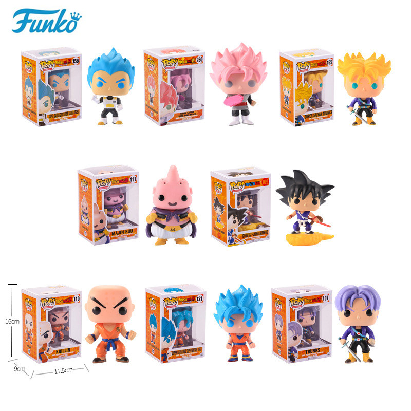 Funko pop Official Japanese Anime Dragon Ball Vinyl Action Figure Model Gift Collection Good Choice For The Movie Fans