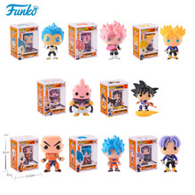 Funko pop Official Japanese Anime Dragon Ball Vinyl Action Figure Model Gift Collection Good Choice For The Movie Fans унитаз приставной jacob delafon formilia viragio с микролифтом e4772 00