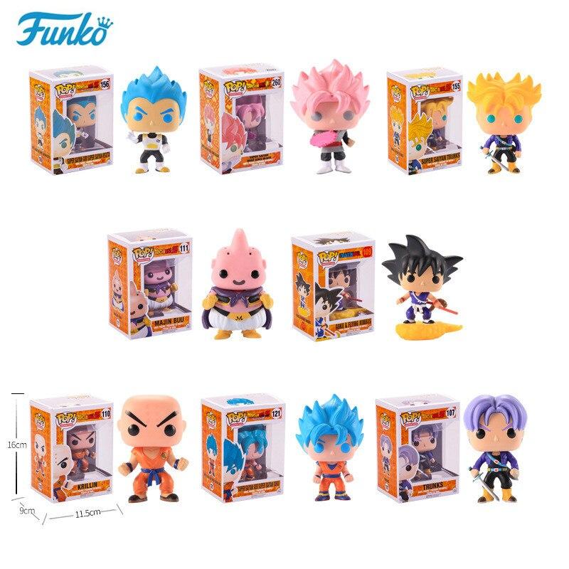 Funko pop oficial japonés Anime Dragon Ball vinilo figura de acción modelo de regalo colección buena elección para los fanáticos de la película