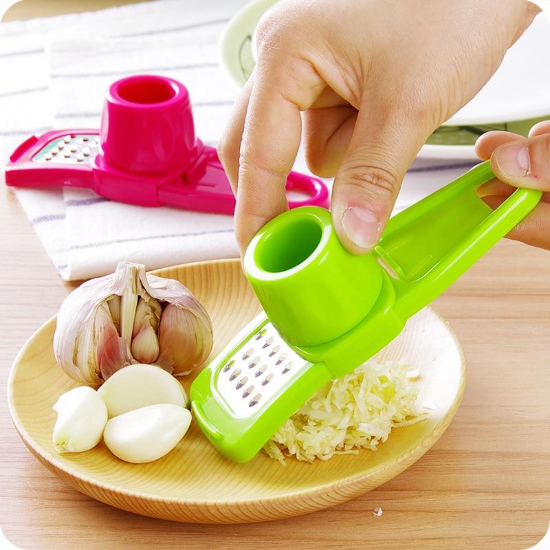 Kitchen,dining & Bar Honesty Household Grinding Garlic Mill Multifunction Ginger Garlic Crusher Portable Garlic Press Device Kitchen Accessories Home & Garden